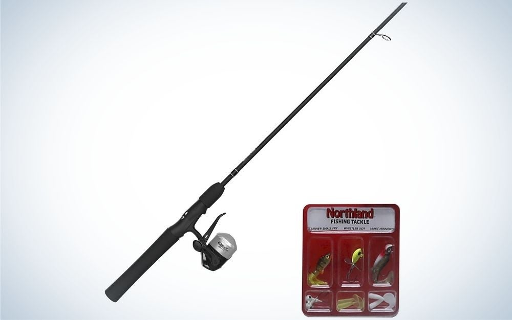 Zebco fishing pole is the best kids fishing pole for lakes.