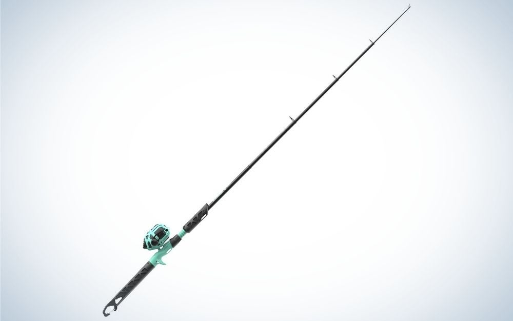 Zebco fishing rod is the best kids fishing pole for collapsible.