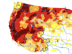 A State-By-State Hunting and Fishing Guide to the  Mega-Drought in the West