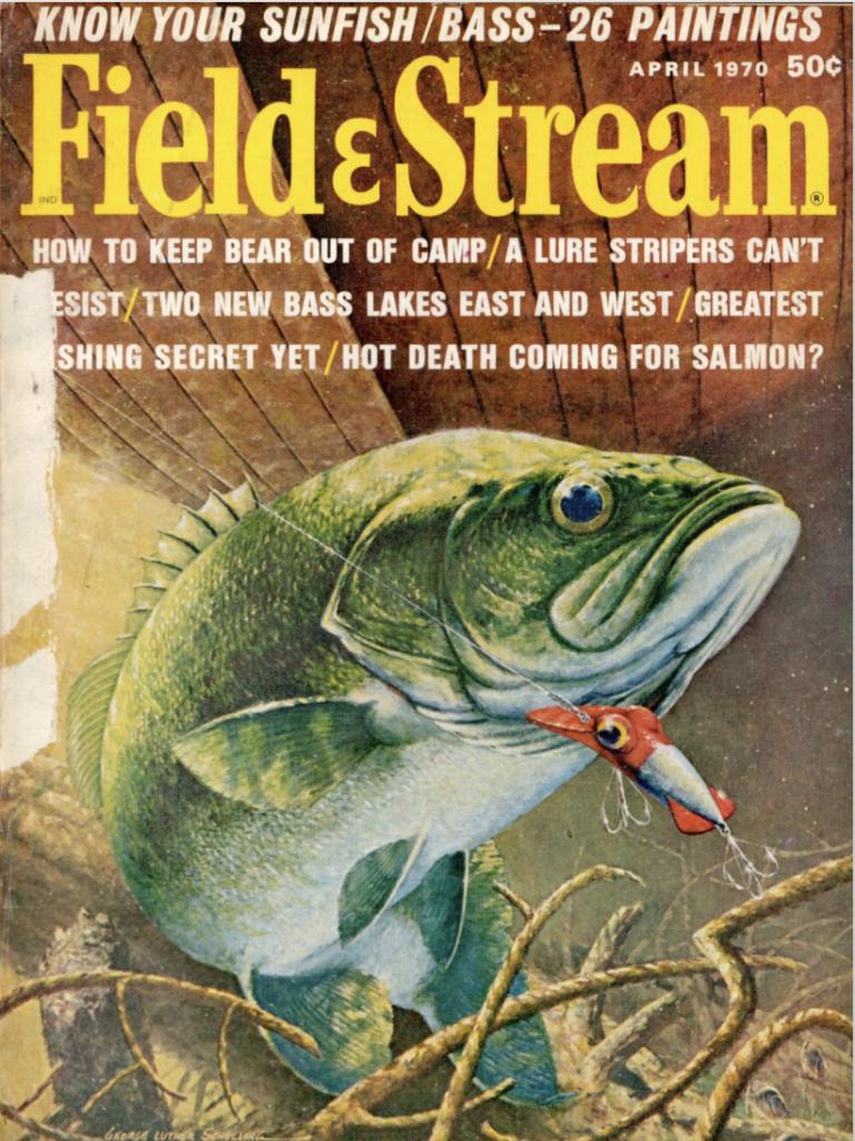 April 1970 cover of Field & Stream