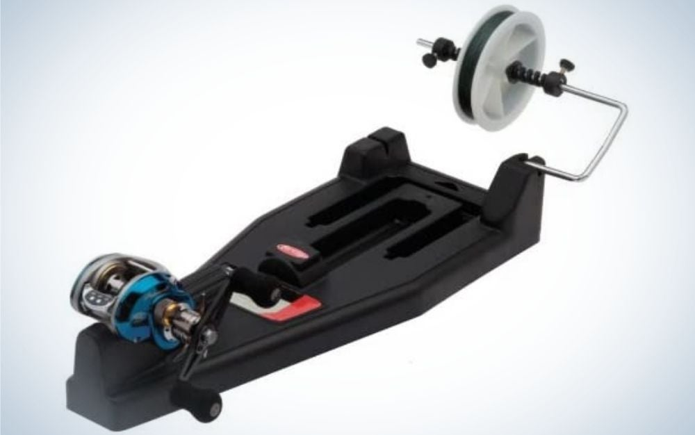 Berkley is the best fishing line spooler that's portable.