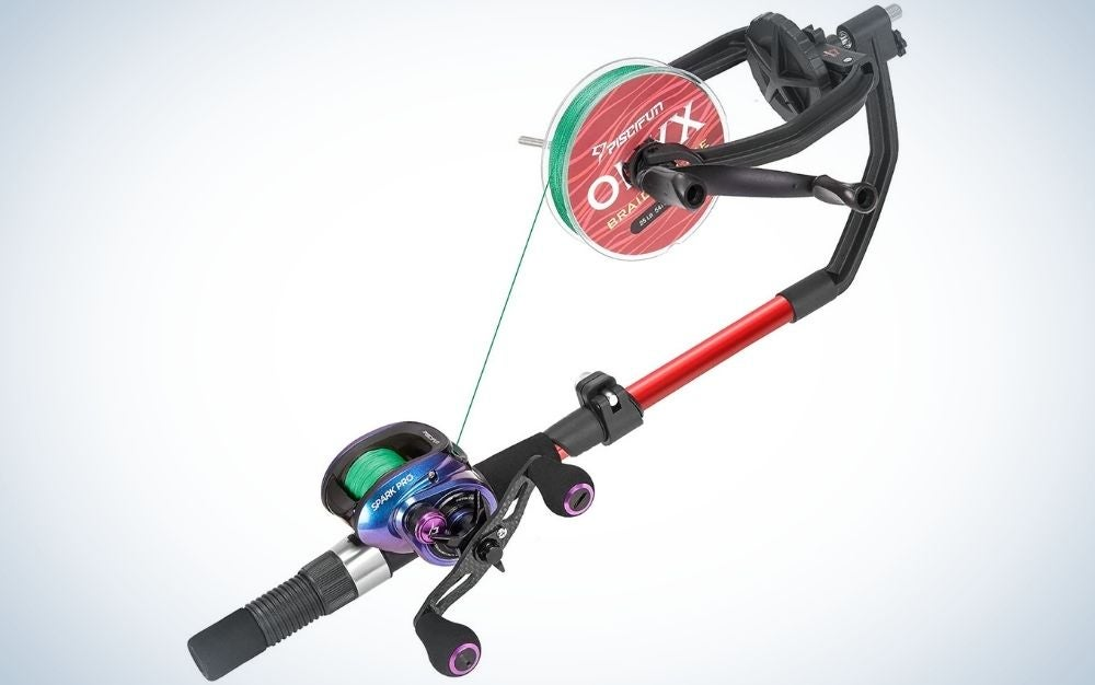 Piscifun is the best fishing line spooler for spinning reels.