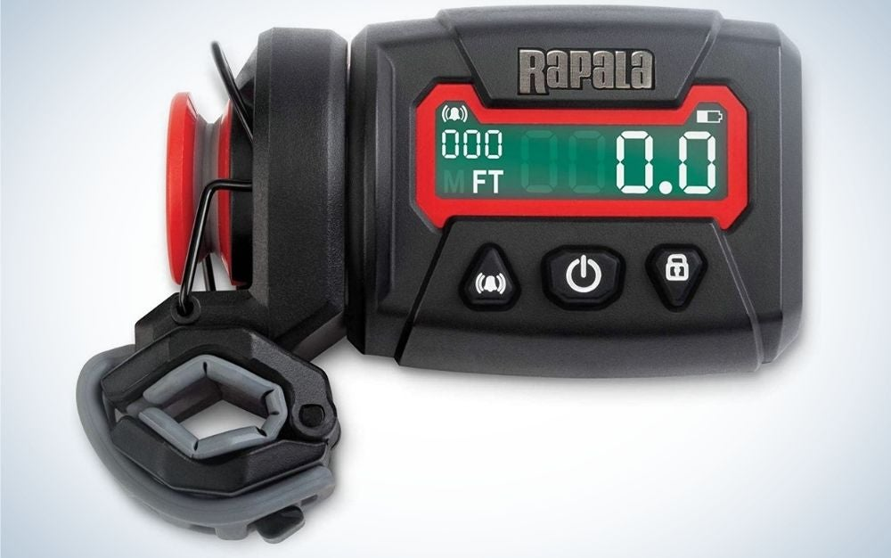 Rapala is the best fishing line spooler with a counter.