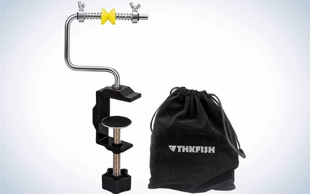 THKfish is the best fishing line spooler on a budget.