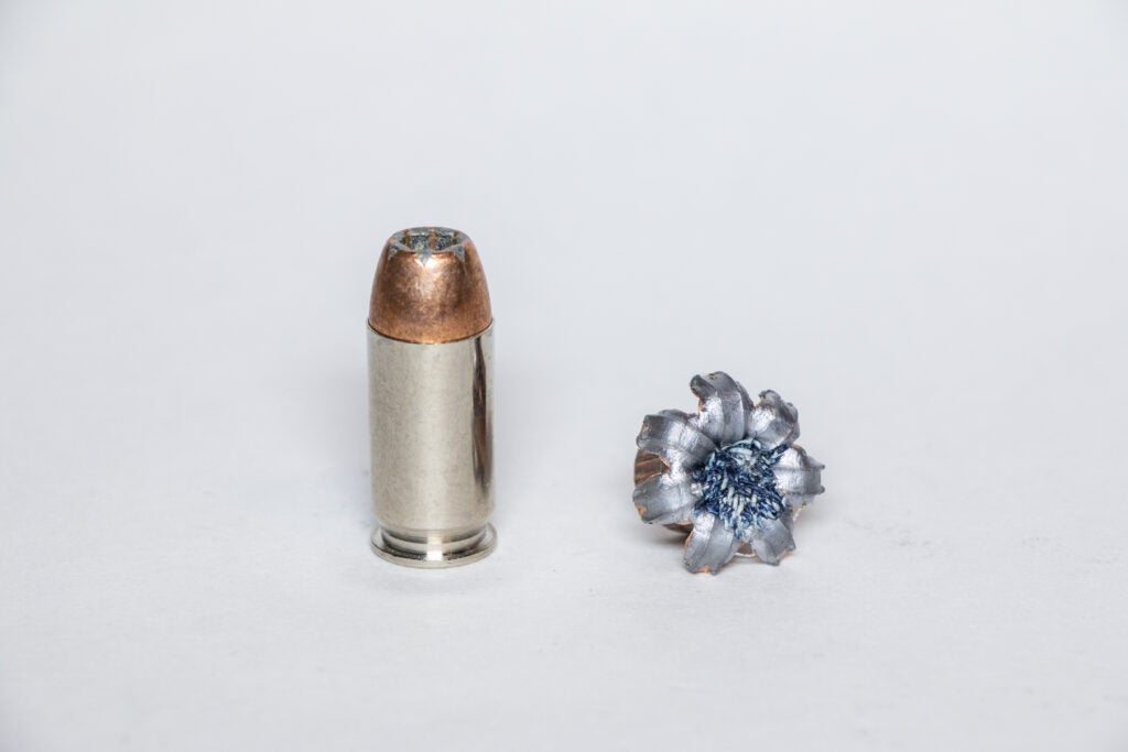 .45 author cartridge and bullet