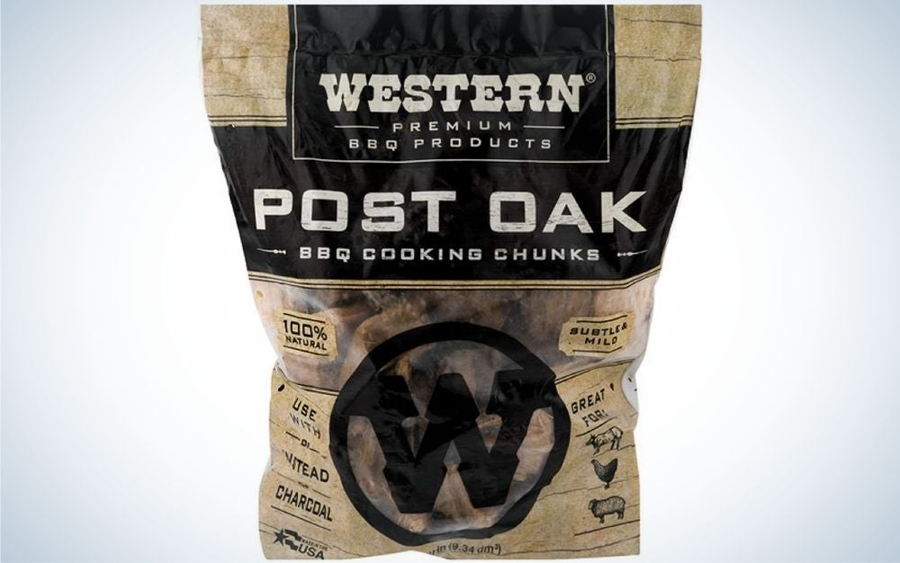 Western Premium is the best wood for grilling fish.