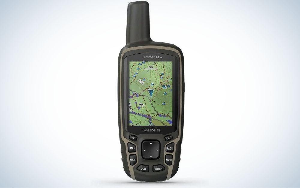 The Garmin GPSMPA is the best handheld GPS