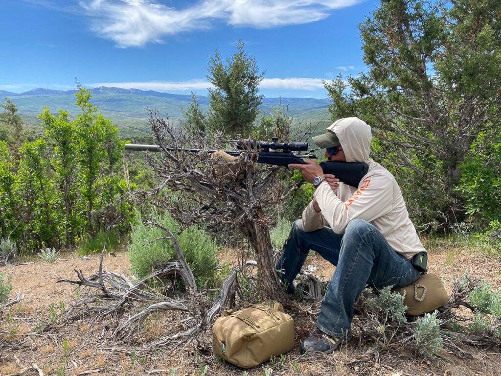 Field shooting long range