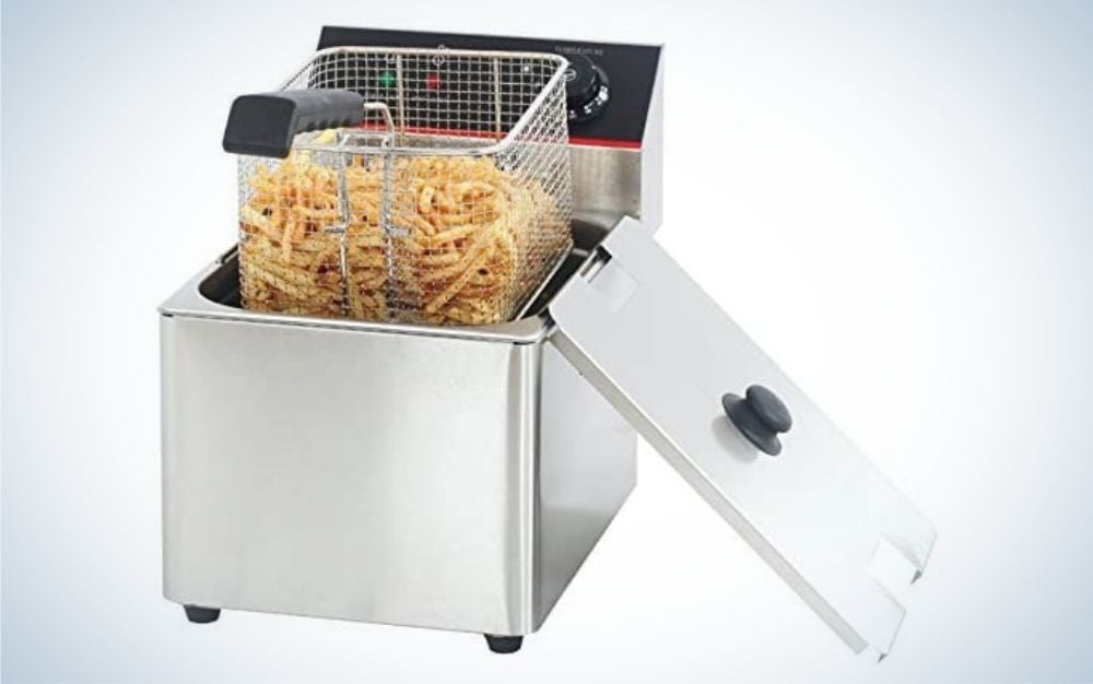 Hakka Food Processing steel deep fryers is the best turkey fryer for home use.