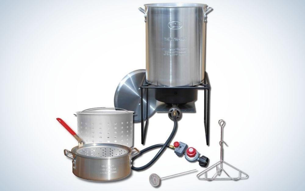 King Kooker is the best turkey fryer for propane.