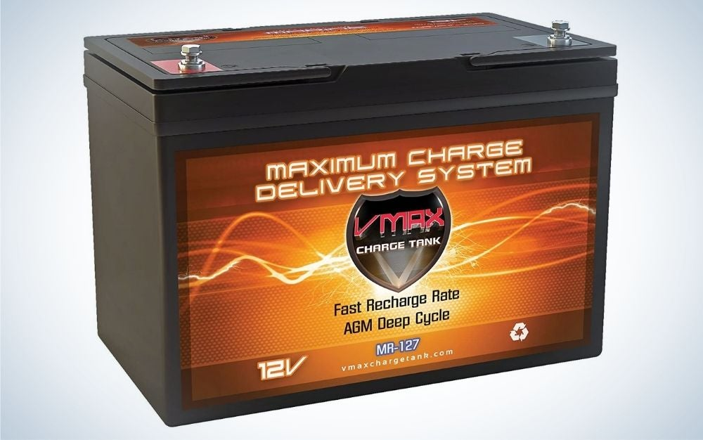 VMAX MR127 is the best budget trolling motor battery.