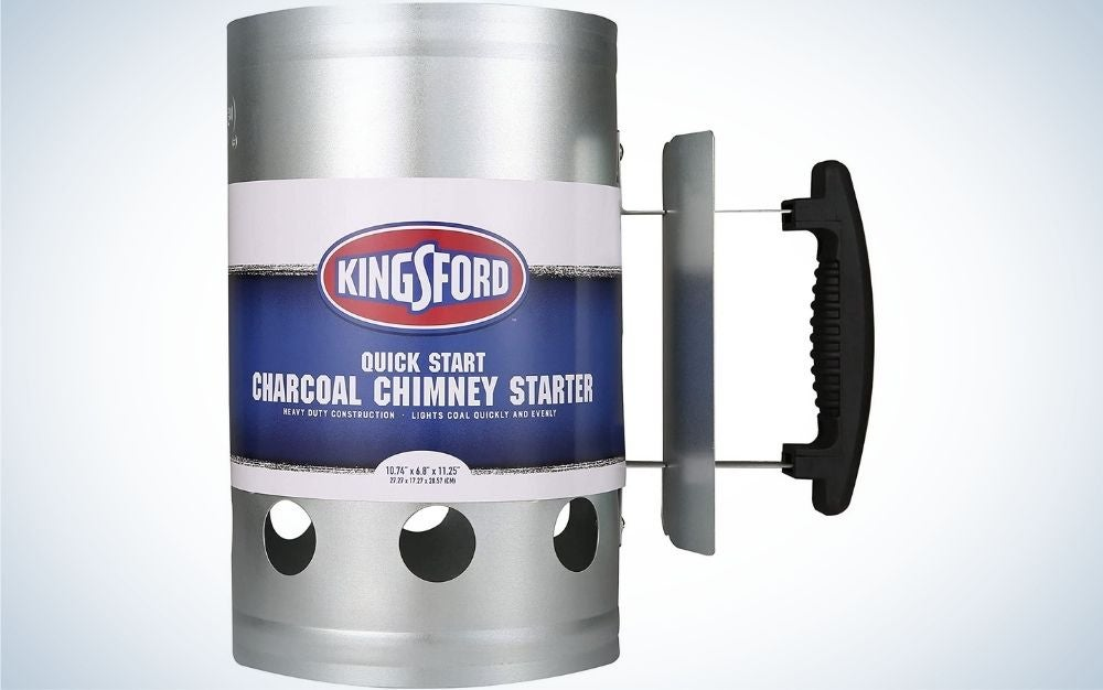 Kingsford Deluxe is the best charcoal chimney.
