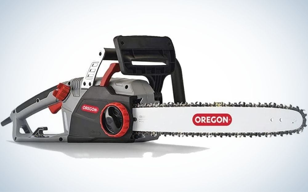 The Oregon saw is the best electric chainsaw.