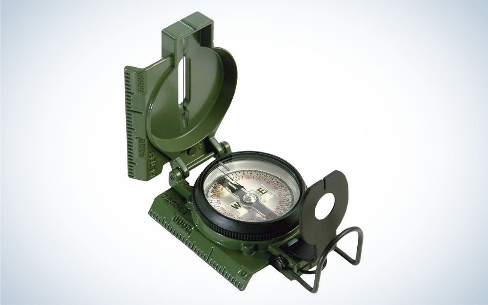 Cammenga Lensatic is our pick for best compass.
