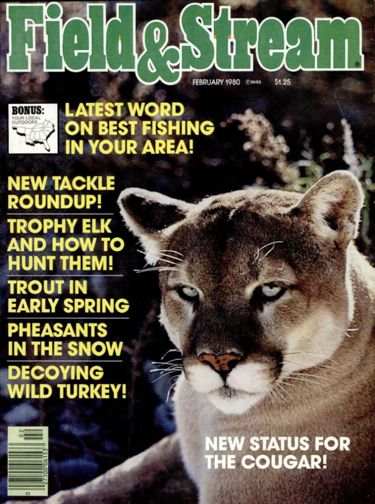 February 1980 cover of Field and Stream magazine