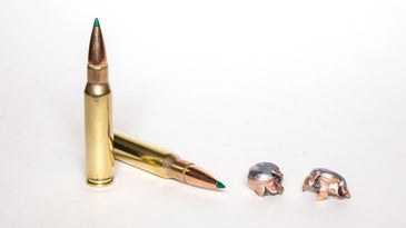 Remington Core-Lokt tipped on a white background.