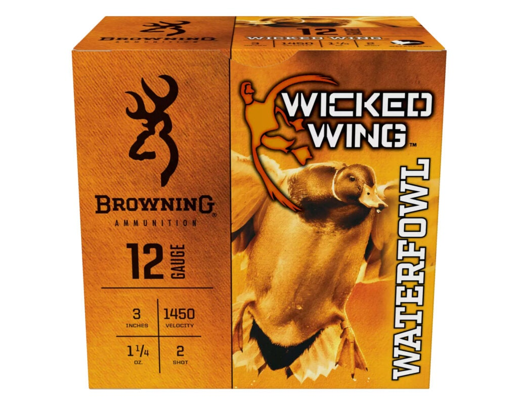 Browning wicked wing ammo