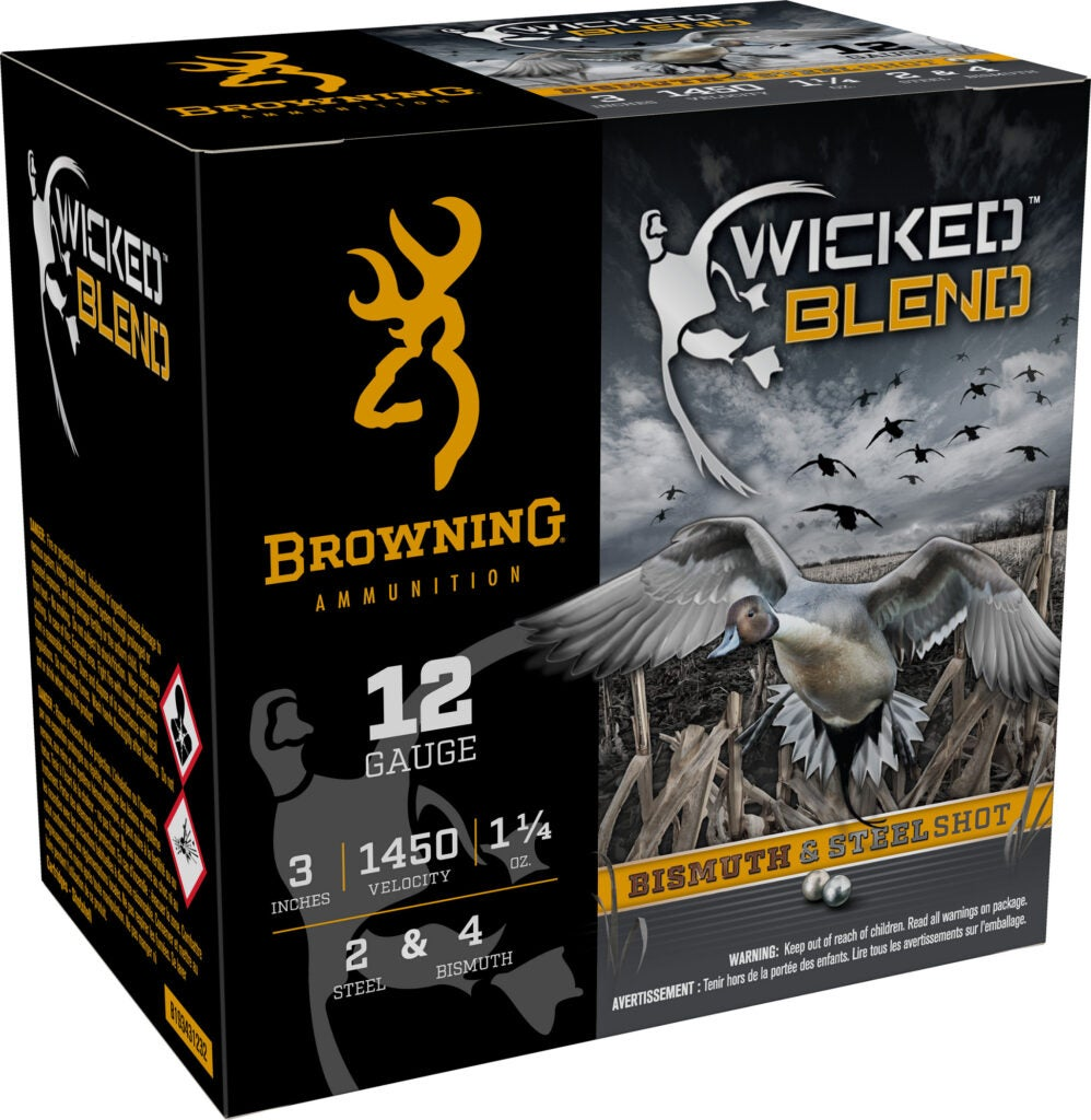Browning Wicked Blend ammo