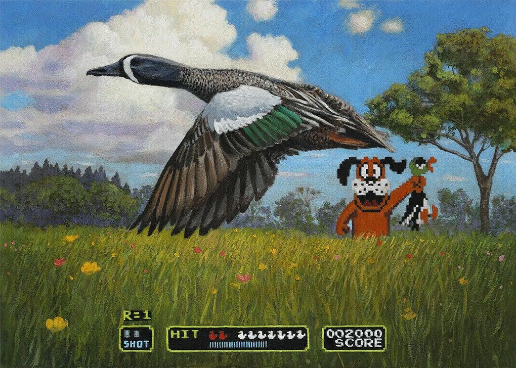 John Oliver Duck Hunt duck stamp