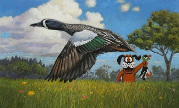 """Field & Stream Won the Auction on John Oliver's """"Duck Hunt"""" Duck Stamp"""