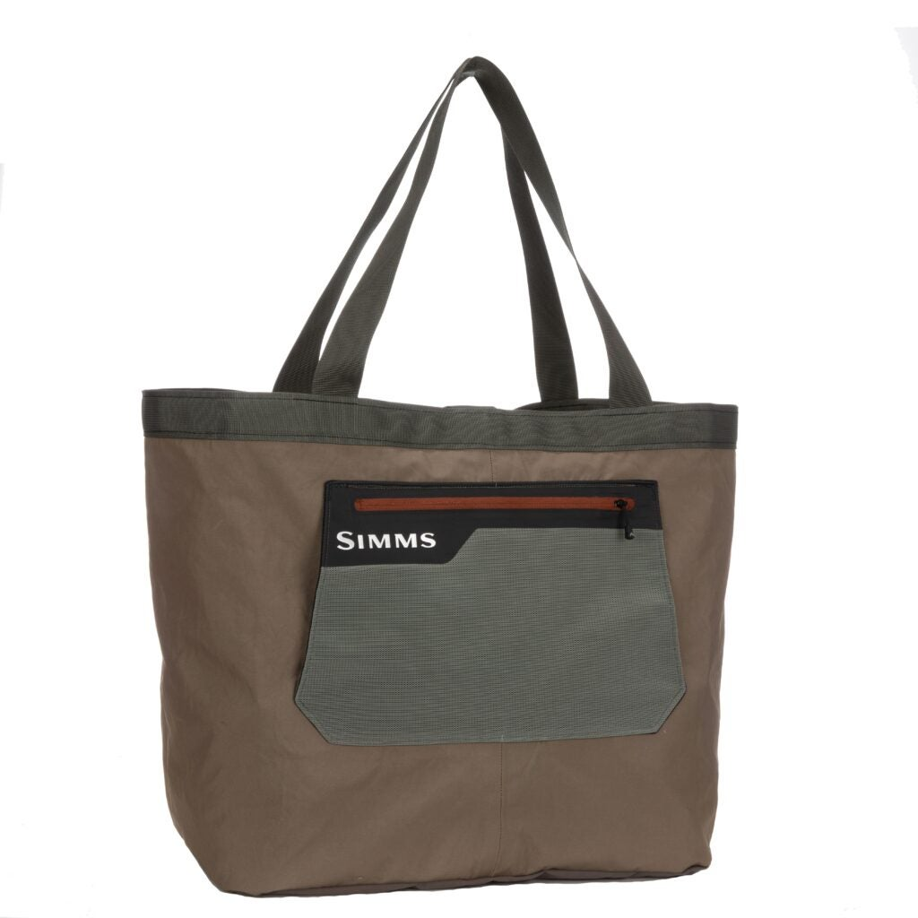 Simms discarded wader bag