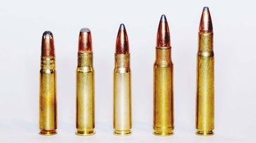 .35-caliber cartridges