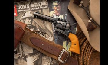 "John Wayne's Colt Revolver From ""True Grit"" Sells for Over $500,000"