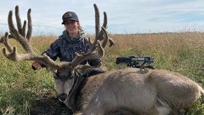Saskatchewan 14-Year-Old Bags 251-Inch Velvet Muley