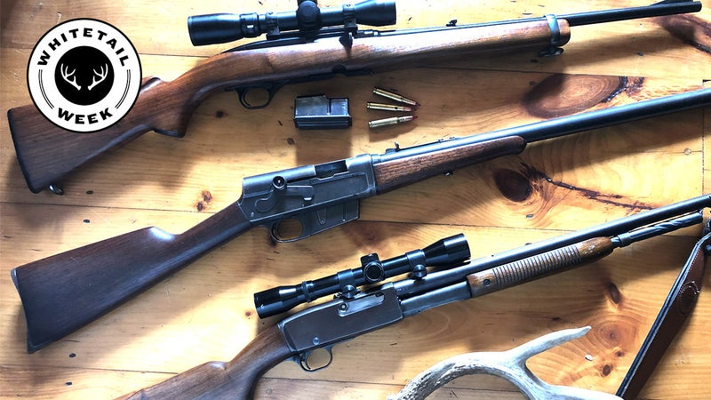 10 Great Classic Deer Rifles You Won't See at Camp